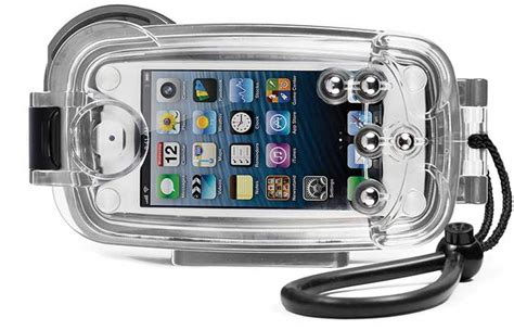 case my housing iphone underwater waterproof housing case by watershot pro line jebiga design