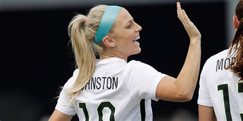 julie johnston tattoo behind ear arizona s julie johnston named one of world s best female