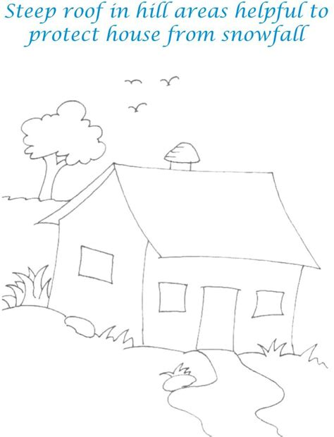 the sweethome sheets sweet home coloring printable page for kids 14