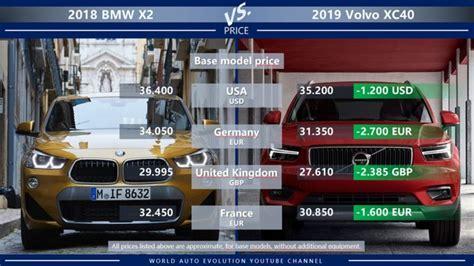 Bmw Price In Germany Vs Us by Bmw X2 Vs Volvo Xc40 Brand New Small Premium Suvs To
