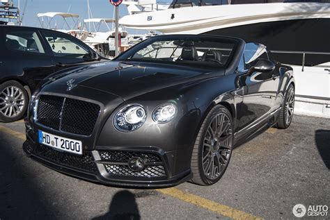bentley gtc mansory bentley continental gtc mansory 2015 29 may 2016