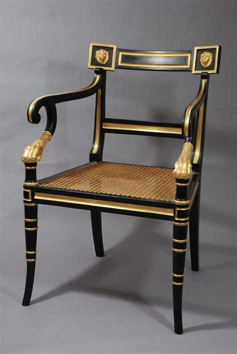 regency armchair antiques atlas regency style open armchair