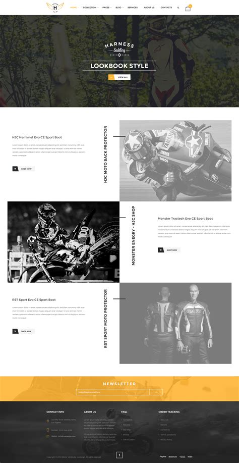 themeforest motors motor vehikal motorcycle online store html template by
