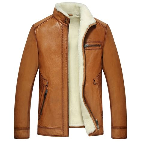 Shearling Jacket shearling lined leather jacket cw857070