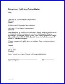 Proof Of Non Employment Letter Employment Verification Letter Template Crna Cover Letter