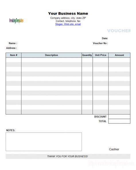 invoice voucher template rabitah net