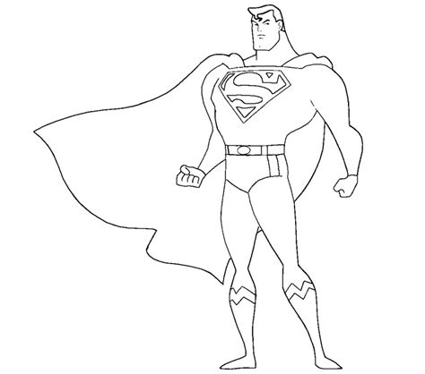 Superman Color Pages free coloring pages of superman