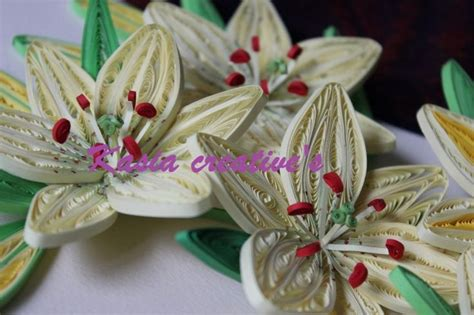 quilling lily tutorial quilled 3d lily flowers quilling pinterest photos