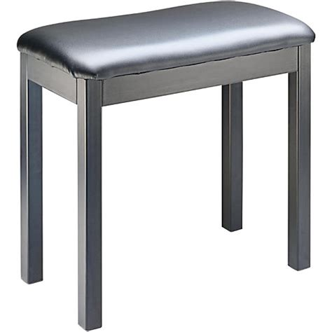 metal frame bench stagg black metal frame piano bench musician s friend