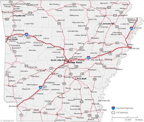 us map conway arkansas conway arkansas map