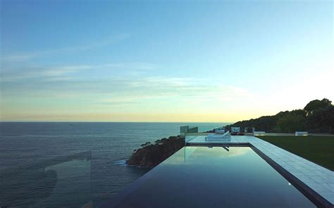 spectacular oceanfront home  tossa de mar spain