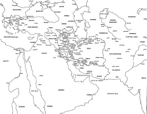 world map with country names coloring page ancient world map