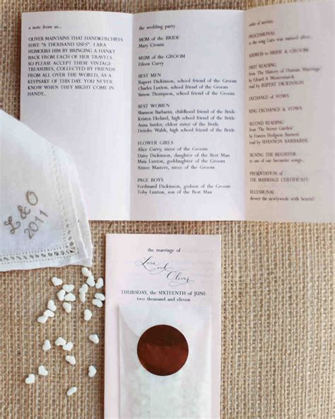 Wedding Ceremony Checklist by The Ultimate Wedding Ceremony Checklist Martha Stewart