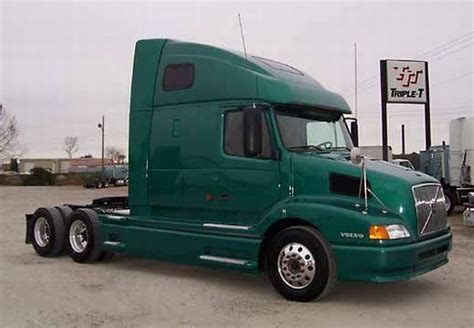 2002 Green Volvo Vnl64t Truck Photo Volvo Truck Pictures