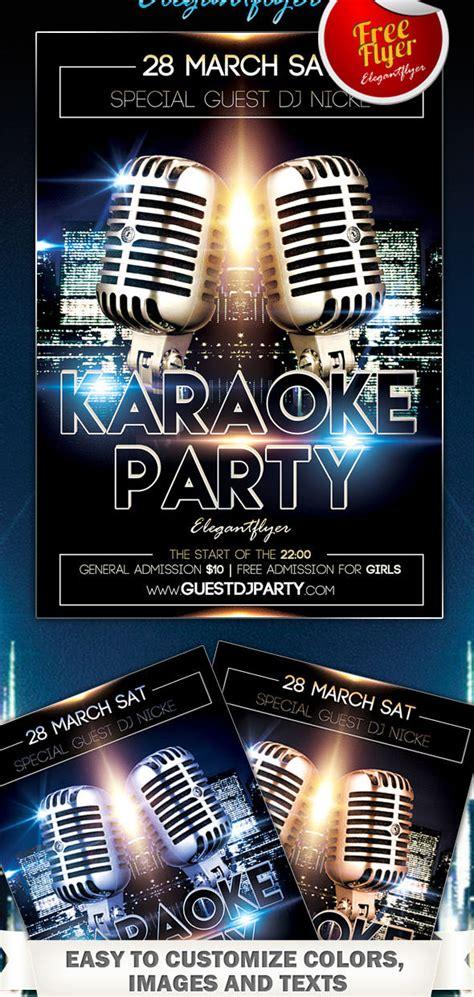 15 Free Karaoke Psd Images Karaoke Flyer Psd Templates Free Download Karaoke Flyer Template Karaoke Flyer Template Free