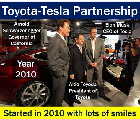 Toyota Tesla Partnership Toyota Tesla Partnership Now Fierce Rivalry