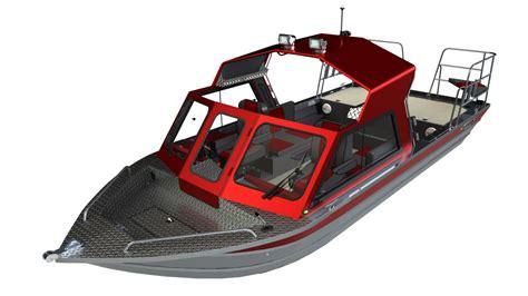 Thunder Jet 3 skeena classic aluminum boat manufacturer thunder jet