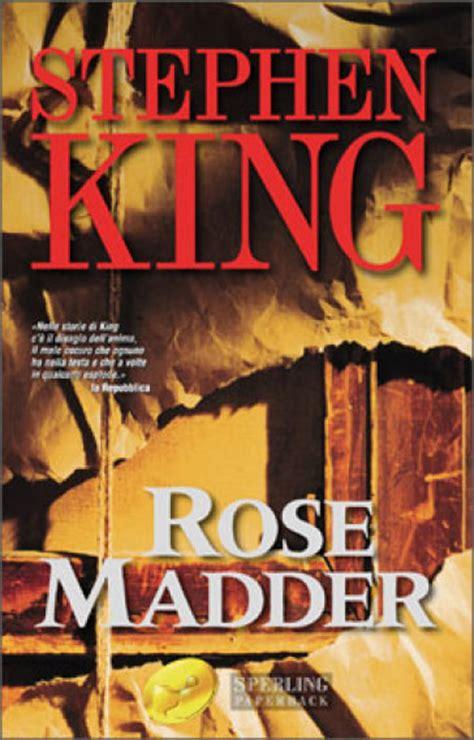 libro rose madder rose madder stephen king libro mondadori store