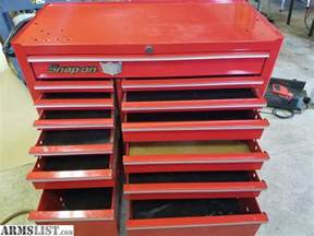 armslist for sale snap on 13 drawer tool box