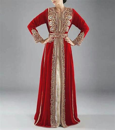 Meroca Dress And White Colors Always Ravishing In Moroccan Kaftan