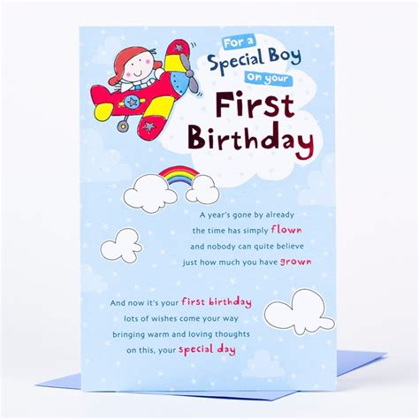 1st Birthday Cards 1st Birthday Card Gangcraft Net