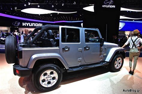 jeep wrangler polar έκθεση φρανκφούρτης 2013 jeep wrangler polar edition