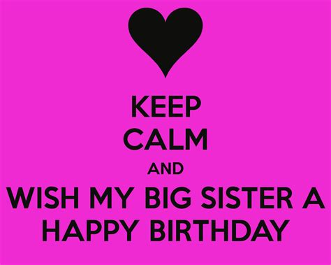 Happy Birthday Wishes To My Big Birthday Wishes For Sister Page 51