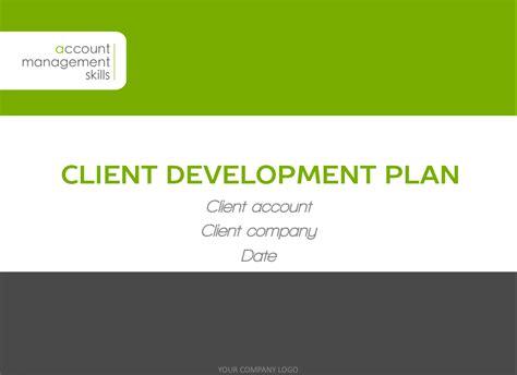 client plan template client development plan template
