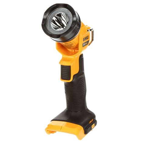 dewalt 20v led light dewalt 20 volt max lithium ion led worklight dcl040 the