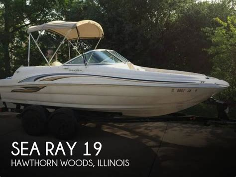 sea ray boats for sale in illinois deck boats for sale in illinois used deck boats for sale