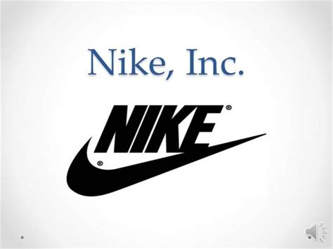 Nike Inc Presentation Mark Pittman Authorstream Nike Powerpoint Template