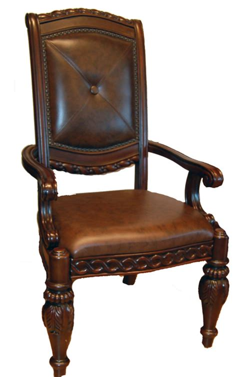 set of 8 mahogany padded leather dining chairs ebay