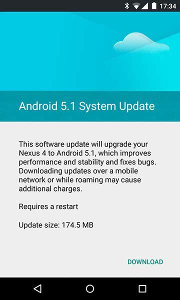android 5 1 update ξεκίνησε το android 5 1 lollipop update για nexus 4 προβλήματα με την κάμερα αναβαθμισμένων nexus 5