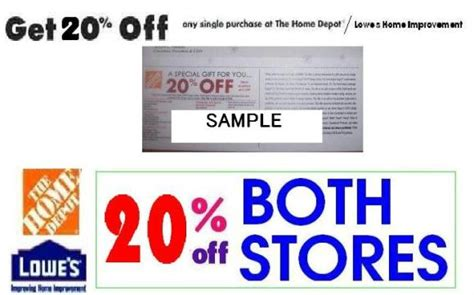 xvon image home depot printable coupon