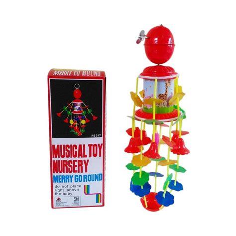 Mainan Gantungan Merry Go Around Mainan Bayi jual label tomat musical nursery merry go kerincingan putar bayi harga