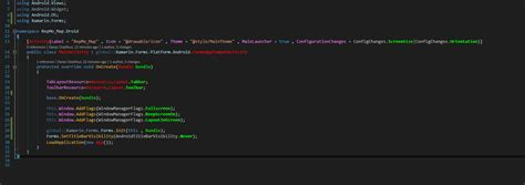 xamarin android hide layout hide the masterdetailpage detail top bar xamarin forums