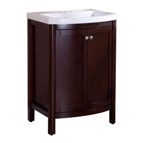 Madeline Vanity by St Paul Madeline 24 In Vanity In Chestnut With Composite