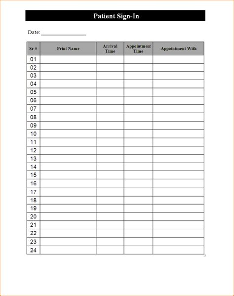 3 free sign up sheet template teknoswitch