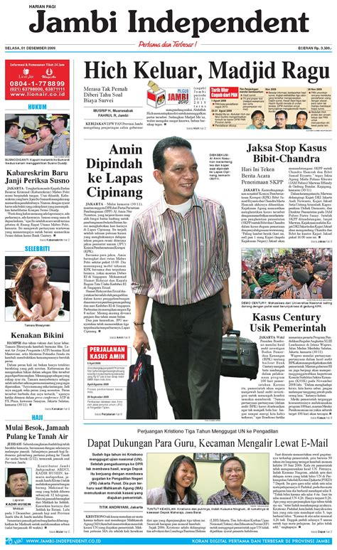 issuu jambi independent 01 desember 2010 by jambi independent 01 desember 2009 by jambi independent