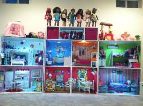 american doll house structure built by s co