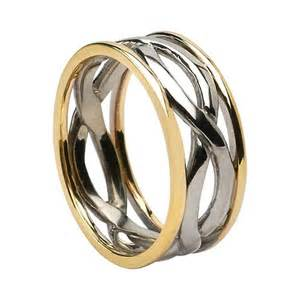 Infinity Wedding Ring Celtic Infinity Knot Wedding Rings Made In Ireland