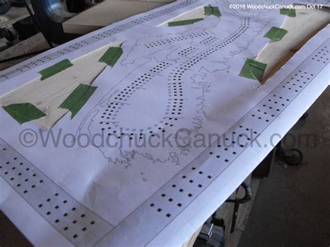 Crib Boards Canada by Wood Maps Scotia No 18 And No 19 Cribbage Boards