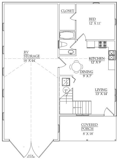 rv garage plans with apartment 25 best ideas about rv garage on pinterest rv garage