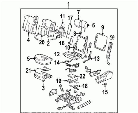 2004 Gmc Yukon Parts Diagram Automotive Parts Diagram Images