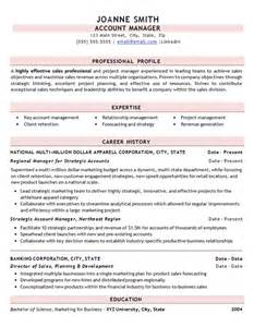Best Resume Sle For It Professionals Sle Of A Professional Resume 28 Images Workalpha Sales Management Professional Resume Sales