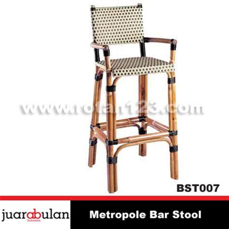 Jual Kursi Bar Stool harga jual metropole bar stool kursi bar rotan alami