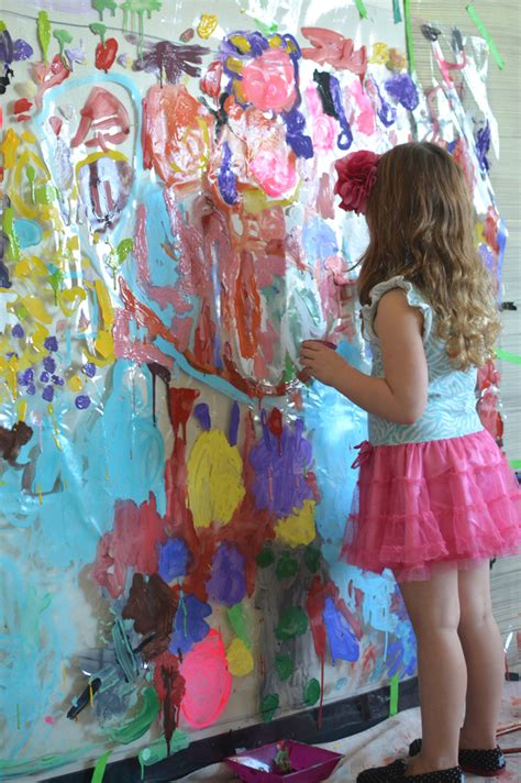 painting for 5 year olds painting on plastic mural for 3 5 year olds meri