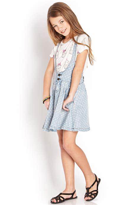 Overal Polka polka dot overall dress forever21