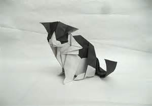 Paper Origami Cat - 25 purr fect origami cats fur real i m not kitten