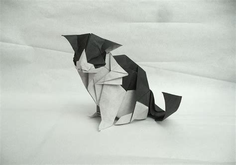 Paper Folding Cat - 25 purr fect origami cats fur real i m not kitten